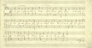 Haydn_Kaiserlied_Reinschrift
