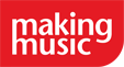 Making Music logo red