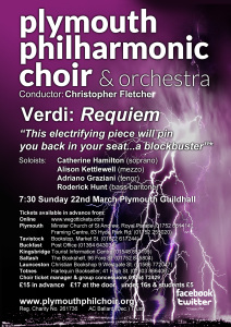Verdi Requiem poster A4